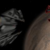 Imagem das naves espaciais do jogo