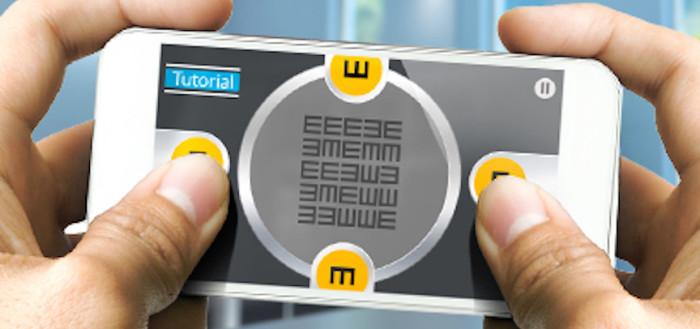 imagem da tela de um smartphone com o game em ação
