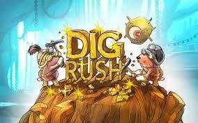 logomarca do jogo dig rush