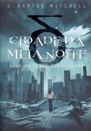 imagem da capa do livro com o título acima com a cidade destruida ao fundo e uma jovem de costas olhando para os destroços